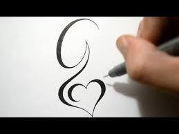 letter g tattoo design