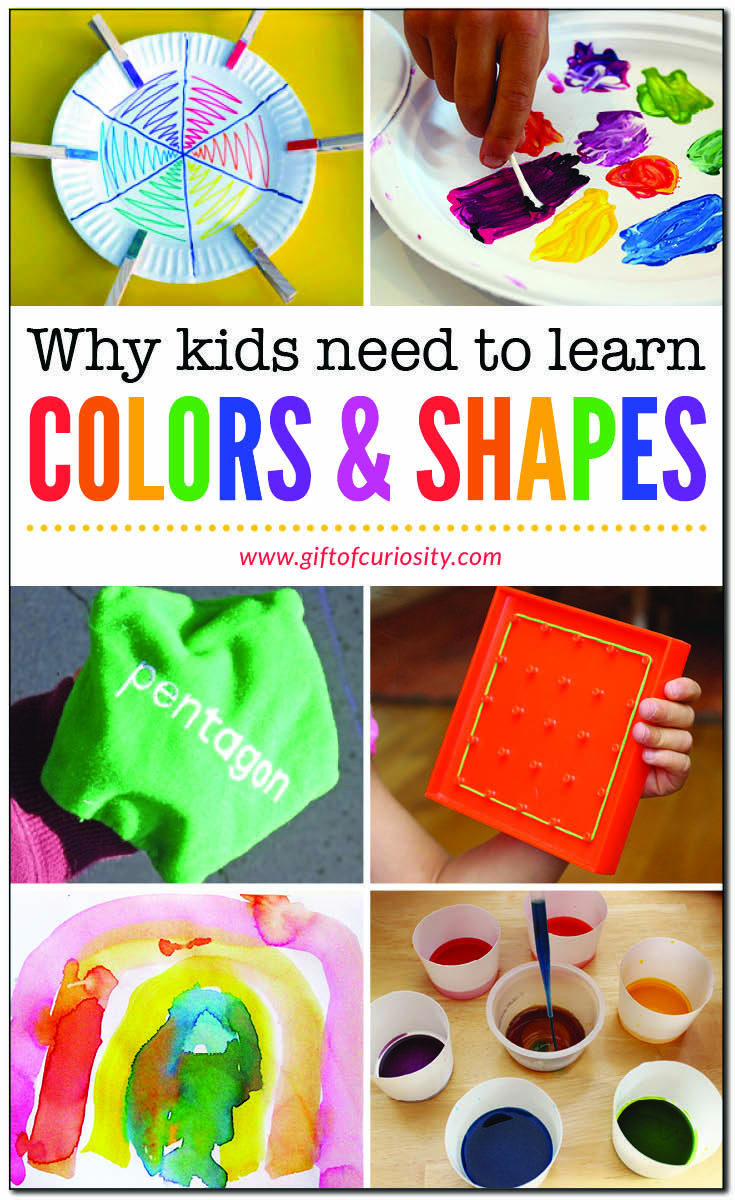 What Age to Start Teaching Your Child Colors, Shapes ...