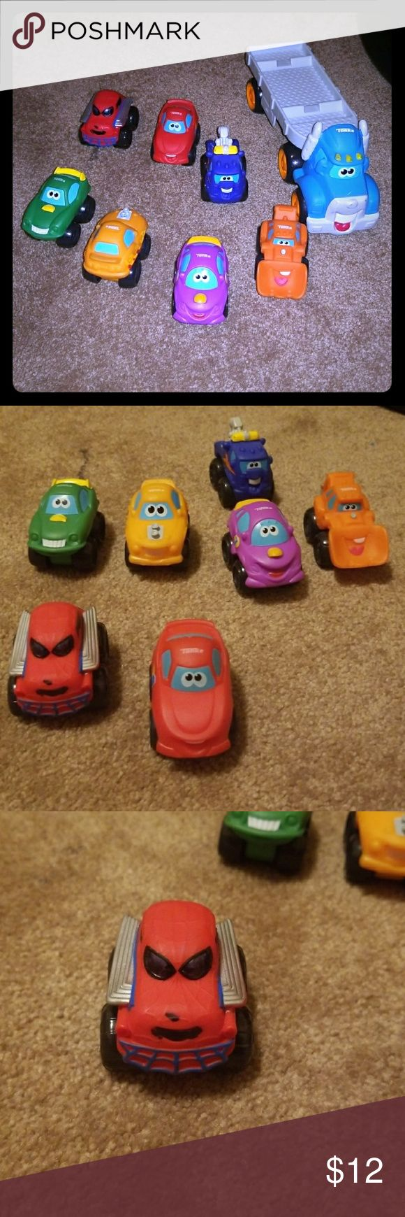 Toys Tonka cars Almost new  Just the last pics have paint the eyes all are new Tonka Other