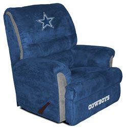 Dallas Cowboys Big Daddy Recliner Looks Comfortable