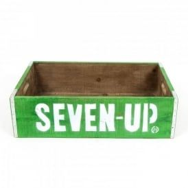 Boutique Camping Seven Up Vintage Style Crate