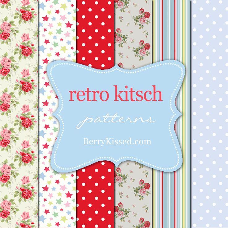 FREEBIE retro kitsch Cath Kidston inspired by berrykissed.com