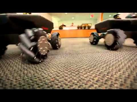 Clever Wheel Design Allows Vehicles To Move In Every Direction — Without Steering