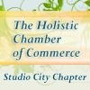 Your local Holistic Chamber of Commerce (HCC) offers networking, education, brainstorming and business-building support for holistic and eco-friendly professionals and practitioners. Our Meetings are every SECOND THURSDAY from 7 to 9 PM.  We will have Three Speakers and a Free Raffle per meeting.  Food and drinks available ''Dutch Treat.''    Contact Chapter President Kate Romero at (818) 506-3064 or StudioCity@HolisticChamberOfCommerce.com for details.    [Studio City, CA]