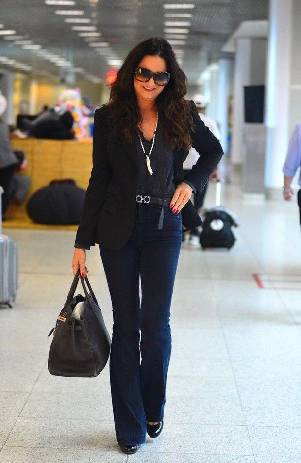 Luiza Possi, Camila Pitanga e outras dão show de estilo em aeroporto