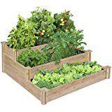 Raised Vegetable Garden Bed 3 Tier #Patio #Lawn #Garden #Christmaspresent #gardening #GardeningLawnCare #Pots #Planters #Christmas