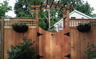 privacy fence with windows - Google Search