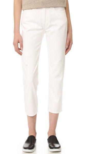 White Vince 1961 Union Slouch Jeans