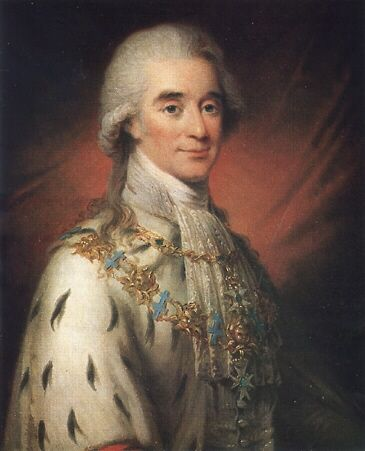 Swedish Count Hans Axel von Fersen, dashing diplomat, soldier, and reputed lover of Marie Antoinette.
