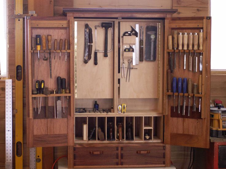104 best Woodworking - Tool Cabinet, Free Standing images on ...