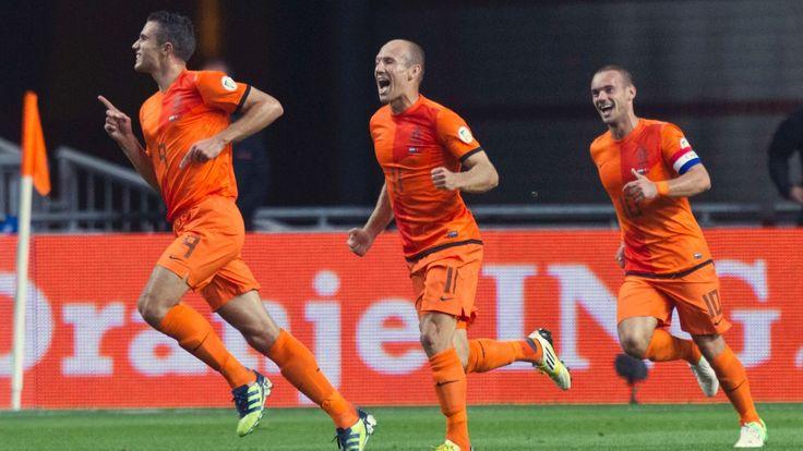 Trio magique Hollandais #VanPersie #Sneijder #Robben #Nike #PaysBas #9ine @VanPersie