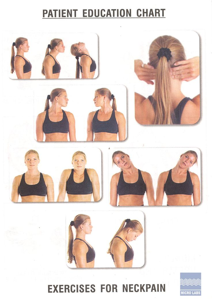 Exercises For Neck Pain Best Neck Exercises for Computer ...