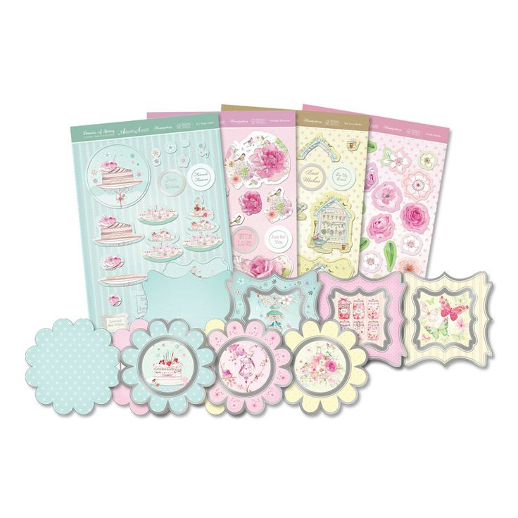 Dreams of Spring - Fancy Aperture Cards | Hunkydory Crafts