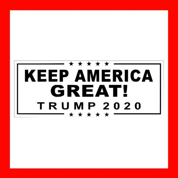 Donald Trump Mike Pence 2020 Vinyl Banner Sign Keep America Great