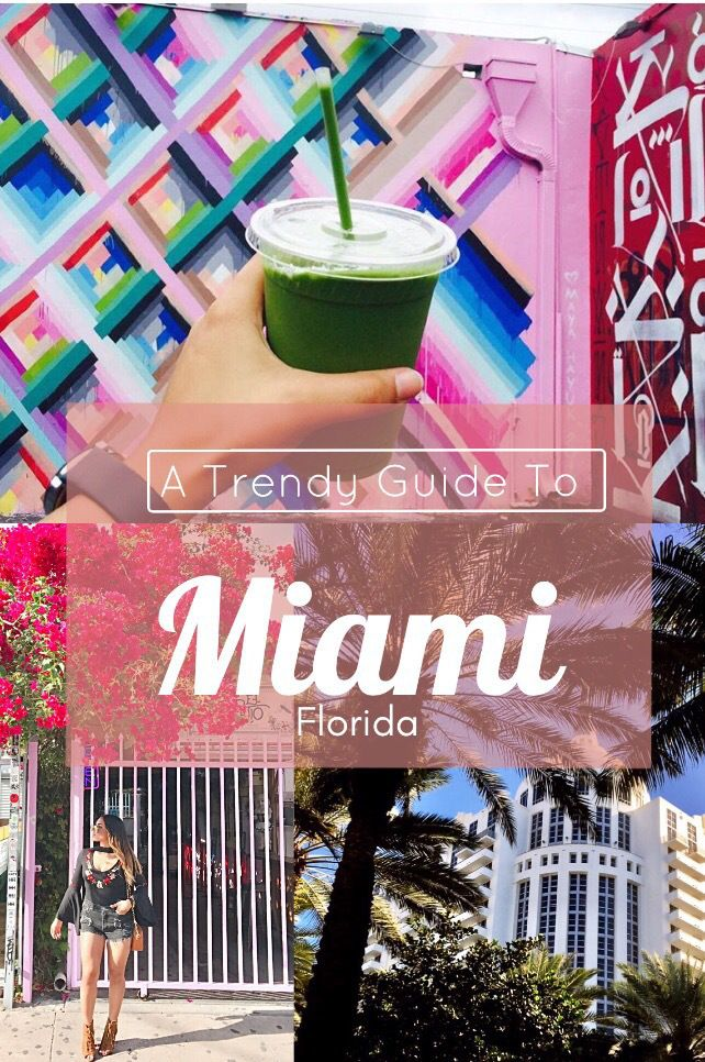 Miami's Instagram Worthy Spots