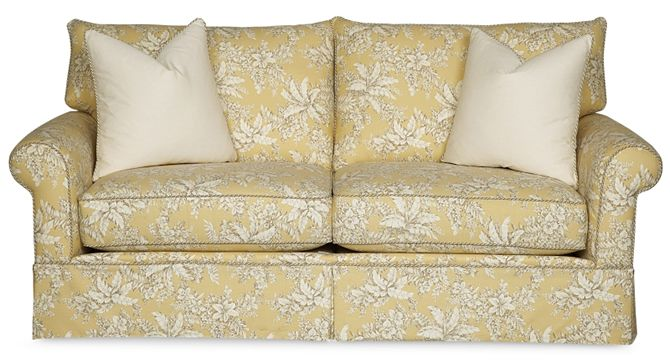 Best Products Yellow Sofa Contemporary Cottage White Sofas 400 x 300