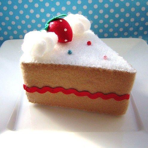 Slice Of Cake Pincushion Pattern