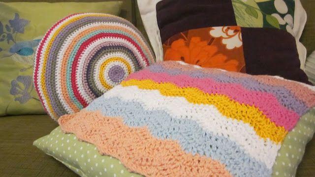 Homemade cushions