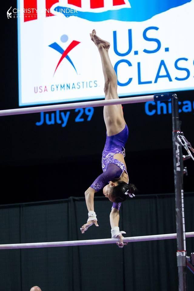 "usagymnastics:  ""Gabby Perea (Legacy Elite)  2017 US Jr. Classic (x)  """