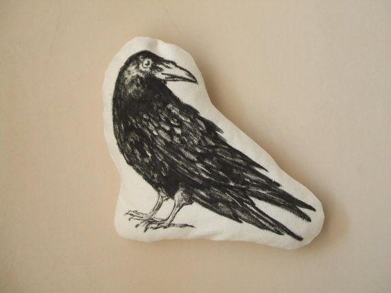 черная ворона ворона искусственного таксидермия птиц Хэллоуин декор по MosMea