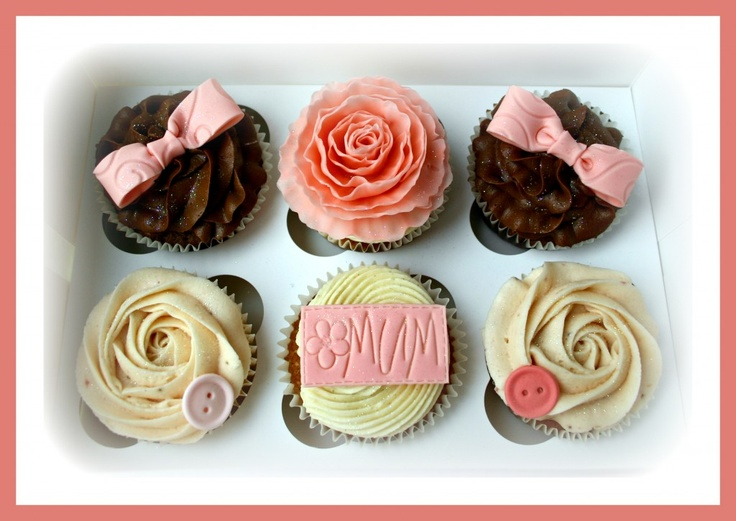Mother's Day  Shabby Chic Cupcakes  Sweet Nothings Cakes & Cupcakes