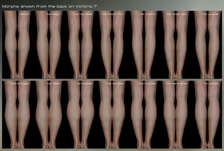 Killer Legs Morphs for Genesis 3 Female(s)   3D Models and 3D Software by Daz 3D