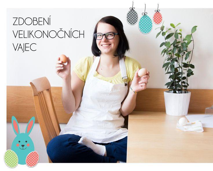 Vosková technika na zdobení vajec. Ukážeme, jak na to.  #DIY #eggs #easter #painting