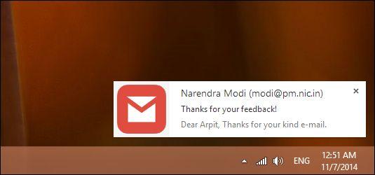 Enable Gmail Desktop Notifications Firefox
