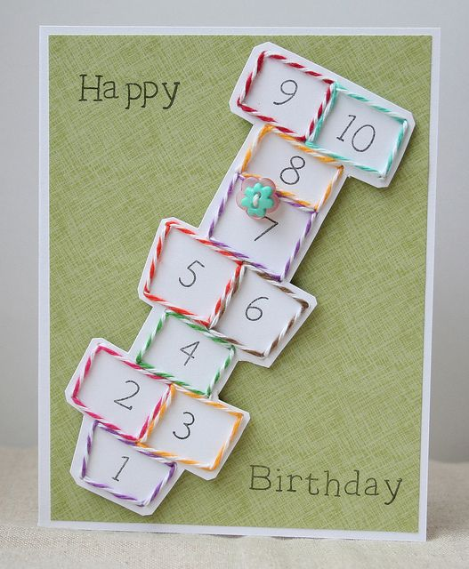 Cute Birthday card idea