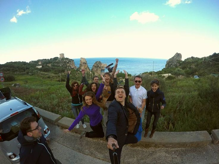 Training #VOYAGEchallenge in Sicily
