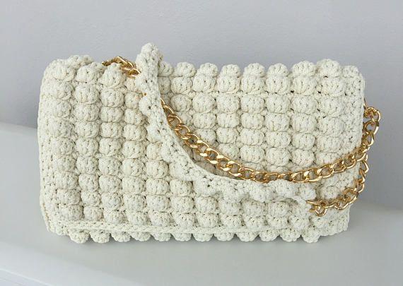 Crochet bag Bags Luxury bug Crochet handbag Handmade