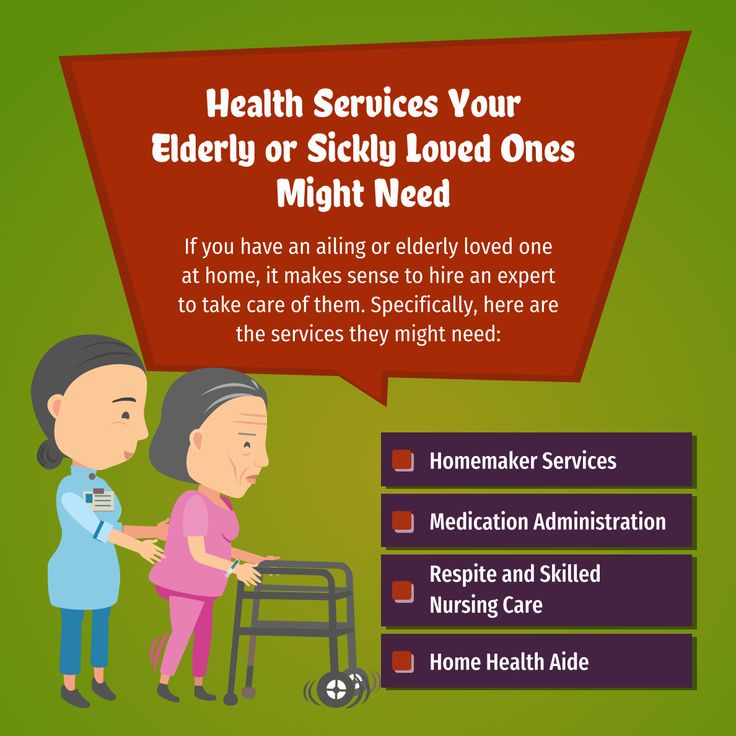 Health services your elderly or sickly loved ones might