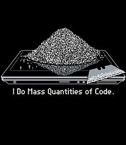 Mass Quantities of Code T-Shirt
