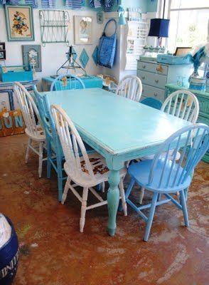 Style Shabby Chic en bleu! 20 idées pour vous inspirer…