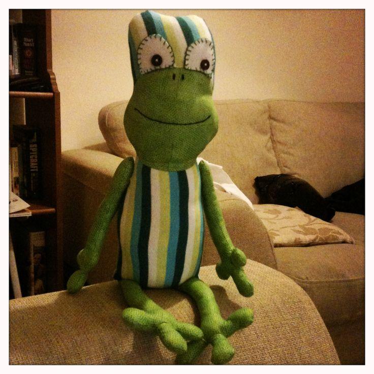 Frog babygrow keepsake