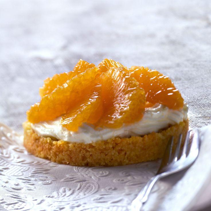 Découvrez la recette de la tarte aux clémentines
