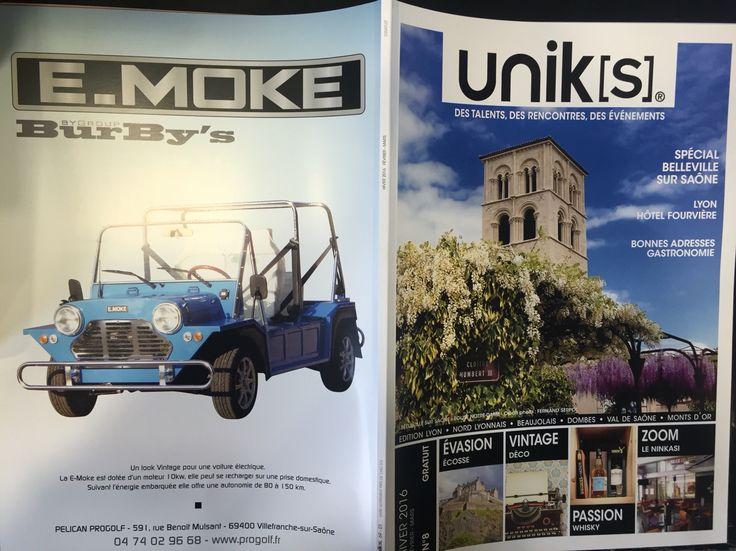 E.MOKE est unik[s] ! # en Couverture