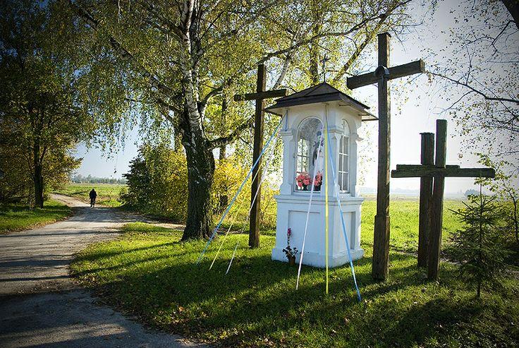 kapliczka - św. Jan Nepomucen, Swory, Podlasie