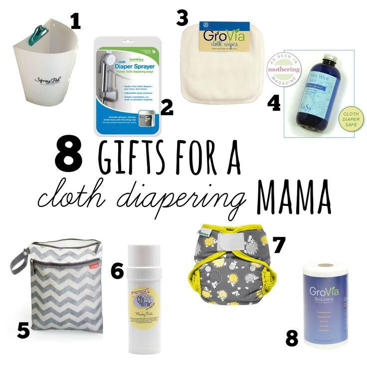 8 Gifts for a Cloth Diapering Mama