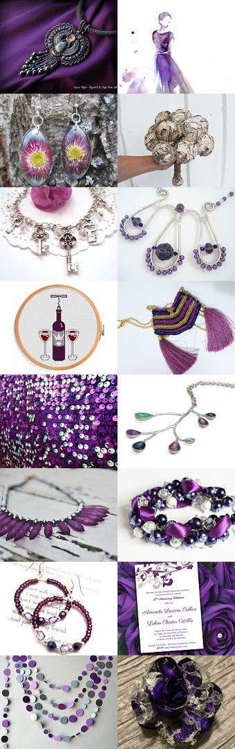 Fashionable Purple by Gabbie on Etsy
