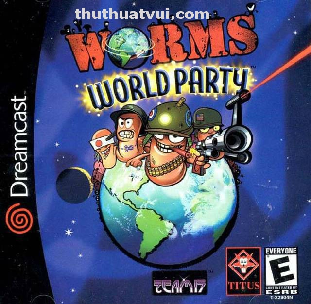 Download Game Offline Worm World Party