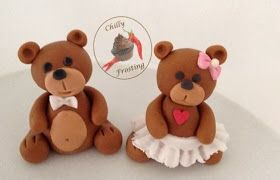 Chilly Frosting: How to Make a Fondant Teddy Bear