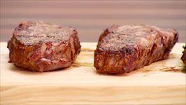 Pan seared Elk Steak