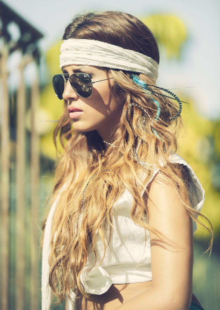 Extensiones de plumas,MyStyle,hair extensions,boho chic,trendy