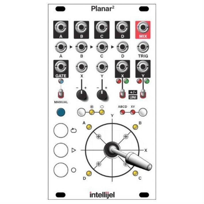 Intellijel Planar 2 Joystick Controller Function Generator Vector Control Joystick