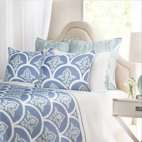 Bedroom Inspiration And Bedding Decor The Clementina Blue Duvet Cover Crane And Canopy