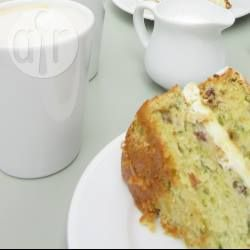 Courgette and lime cake @ allrecipes.co.uk - i had this cake at the post tennis match tea - delicious