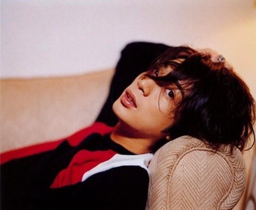 Matsumoto Jun, from Arashi, Jpop and actor.