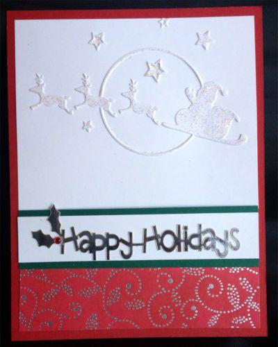 Cuttlebug Christmas Embossing Folders