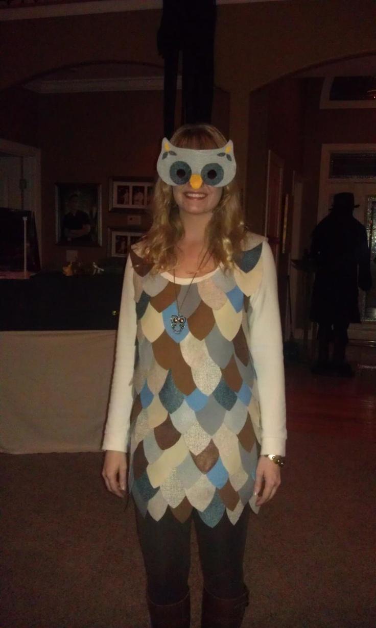 11 Best Owl Costume Images On Pinterest & Owl Costume Ideas - Meningrey